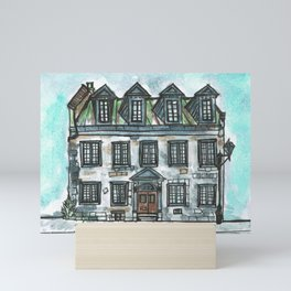Vieux Montreal Building Mini Art Print