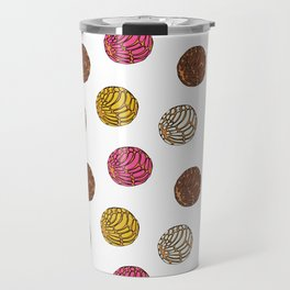 Pan Dulce (white bg) Travel Mug