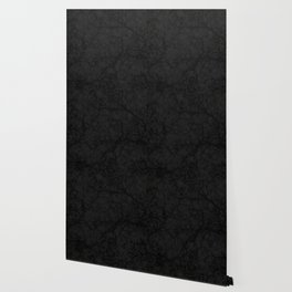 Dark Black Hunting Camo Pattern Wallpaper