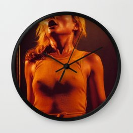 Golden Debbie Wall Clock