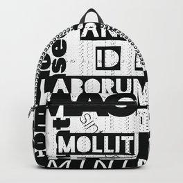 Lorem Ipsum Inverted Backpack