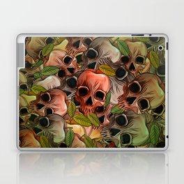 Apple Skull Laptop & iPad Skin