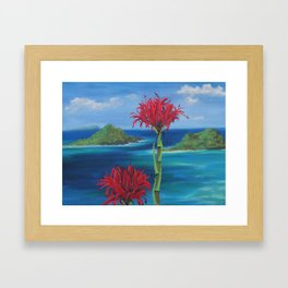 Gymea Views Framed Art Print