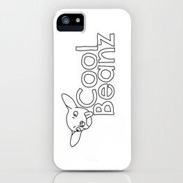 Cool Beanz iPhone Case