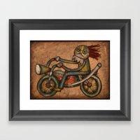 My Harley Framed Art Print