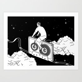 Slow Ride Art Print
