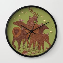 Topiary Wall Clock