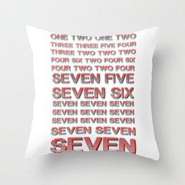 Monica teaches Chandler 7 erogenous zones in F.R.I.E.N.D.S. Throw Pillow