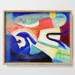 Kurt Schwitters Abstract Composition Serving Tray