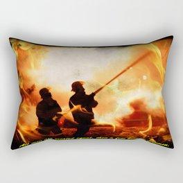 Firefighter Quote Rectangular Pillow