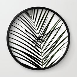 Palm Leaves 7 Wall Clock