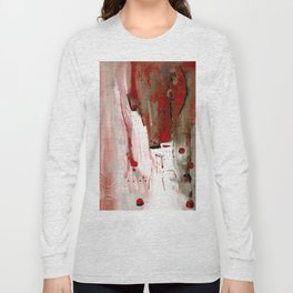 Abstract Horse Long Sleeve T-shirt