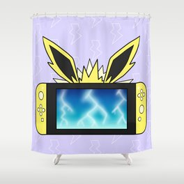Electric Game Shower Curtain