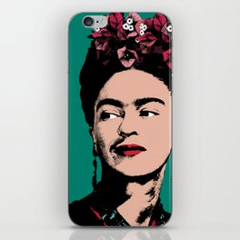 Floral Frida iPhone Skin
