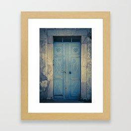 Blue Door II Framed Art Print