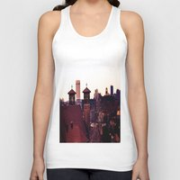 religion Tank Tops featuring Cleveland Religion by Toni Tylicki