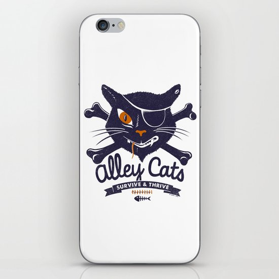 Alley Cats iPhone & iPod Skin