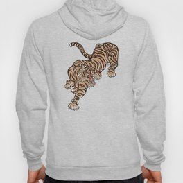 Tiger in Asian Style Hoody