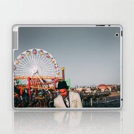 Santa Monica Pier wheel Laptop & iPad Skin