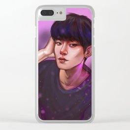 chen Clear iPhone Case
