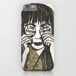 Love Forever Yayoi Kusama iPhone Case
