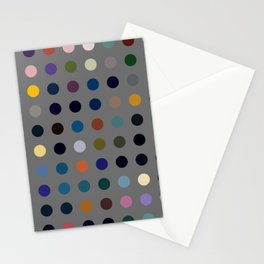 Kokopelli - Colorful Abstract Dots Art Stationery Cards
