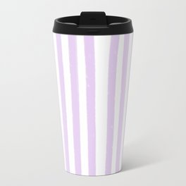Lavender Stripes Travel Mug