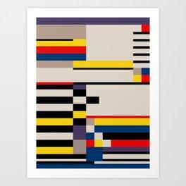 Asymmetry Art Print