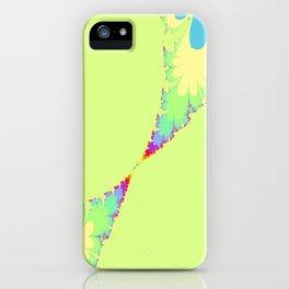 Bubble Gum Leaves iPhone Case