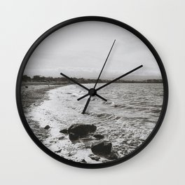 COYOTE POINT III (B+W) Wall Clock