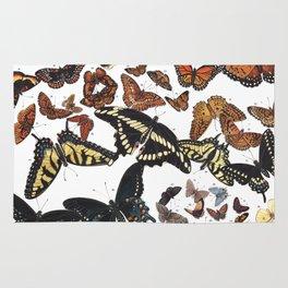 Butterflies of Maine Chart Rug