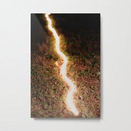 Light snake Metal Print