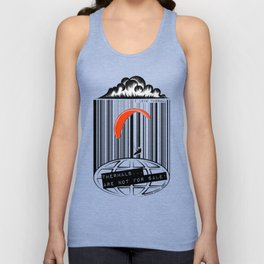 Paragliding: THERMAL ARE NOT FOR SALE! I love thermal. Unisex Tank Top