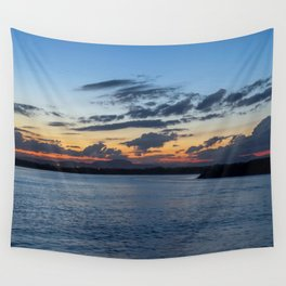 Sunset in Australia Wall Tapestry