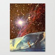 Surf Session Canvas Print