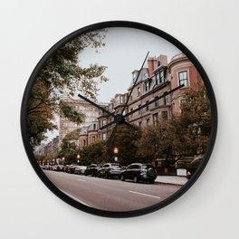 Boston Streets // Wall Clock