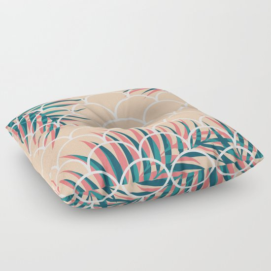 Tropical Window #society6 #decor #buyart Floor Pillow by DesigndN Society6