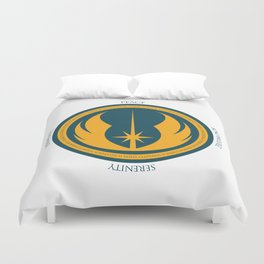 The Jedi Code Duvet Cover