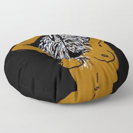 These Foolish Things Floor Pillow