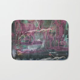 Glitch Zoo Chaos Bath Mat