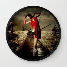 Siren Wall Clock