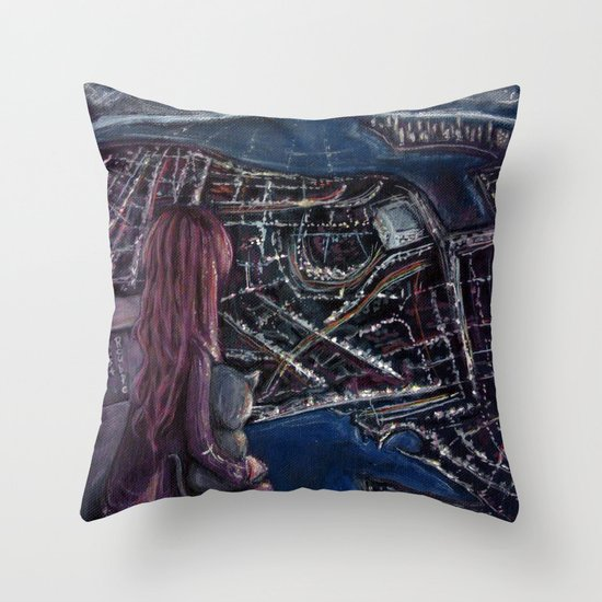 Take me home Throw Pillow