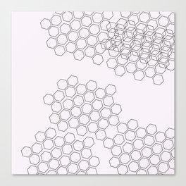 Geometric Pastel Canvas Print