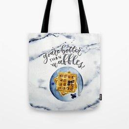 Waffle Love Tote Bag