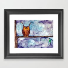 Not What They Seem Framed Art Print