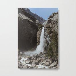 Yosemite Lower Falls Metal Print