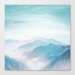 Pastel landscape 04 Canvas Print