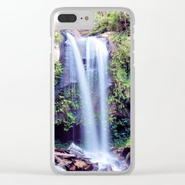 Curtis Falls Clear iPhone Case