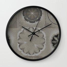 Untenableness Unveiled Flower  ID:16165-132836-04120 Wall Clock
