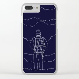 To the Mountains Clear iPhone Case